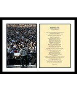 "Bruce Springsteen Signed Autographed ""Born to Run"" Lyric Sheet w/ Glossy... - $299.99"