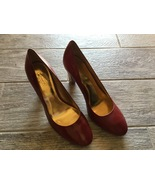 NWOB COACH Maxey Model #A0258 Burgundy Patent Leather Heels - Women's Si... - $60.00