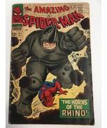 The Amazing Spider-Man #41 Original 1966 Marvel Comic Book - 1ST RHINO - $149.99