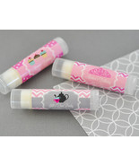 50 Personalized Lip Balm Tube Boy or Girl Childs Birthday Party Favor Gifts - €68,85 EUR