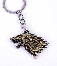 Reddream Game of Thrones Keychain Pendant Charms Gifts (keychain-bronze ... - $15.48