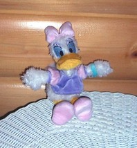 "Disney World Fuzzy Wuzzy Daisy Duck Plush 9"" in Pink & Lavender - $6.59"