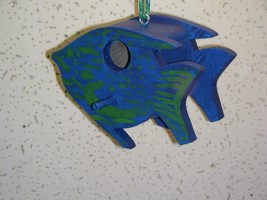 Small Hanging Fish Style Birdhouse - $19.99