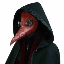 Steampunk Plague Doctor Mask Leather Long Nose Bird Cosplay Gothic Retro... - £22.71 GBP+