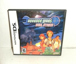 Advance Wars: Dual Strike (Nintendo DS, 2005) Cartridge With Case & Manual - $37.00