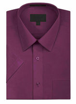 New Open Box Repackaged Men's Short Sleeve Dress Shirts Multiple Colors image 8