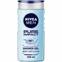 NIVEA Hommes Corps Lavage, Pure Impact, Gel Douche, 250ml (Paquet De 1) - $19.83