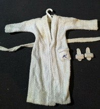 Vintage 1961 Mattel Bar of Soap, Ken Robe and Belt & Slippers from Terry... - $17.81