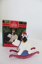 Christmas Hallmark Keepsake 1990 Bearback Rider Ornament - $8.59