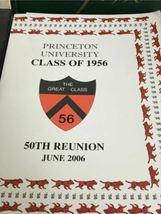 Vintage Lot 1950s Princeton University Yearbook Shirt Sweatshirt USA Made image 9