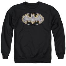 Batman - Steel Fire Shield Adult Crewneck Sweatshirt Officially Licensed... - $29.99+