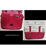 Bike Riding Bag Handlebar Purse Bicycle Insulated Reflective Pouch Hot Pink - $11.99