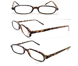 1 Pair to 12 Pairs Slim Reading Glasses Brown Leopard Small Frame +1.00 ... - $4.95+