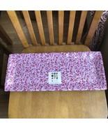 Novogratz Melamine Red & Pink Flowers Serving Platters Trays Floral set ... - $24.75