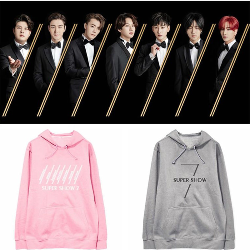 Kpop Super Junior Hoodie Super Show 7 and 15 similar items