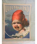 Lullaby Land Sheet Music 1919 from A.J. Stasny Music Co. by Frank Davis - $22.28