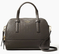 NWT Kate Spade Small Felix Graphite Leather satchel + 25% off your next ... - $261.72 CAD