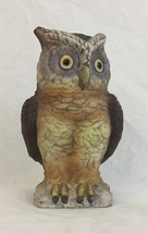 "Leftons Pottery 5.25"" Owl Bank Moneybox Piggybank Bank  - $12.82"