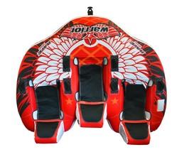 Rave Sports Warrior 3 Recumbent Style 3 Person Towable Ski Tube         ... - $293.70