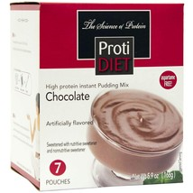 ProtiDiet Protein Pudding - Chocolate (7/Box) - High Protein 15g - Low C... - $13.28