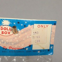 "vintage baby doll socks progressive sox for 18""-21"" doll NOS made in Japan - $23.23"