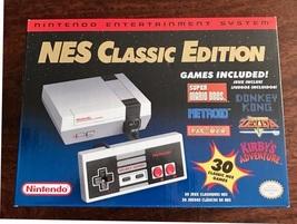 NEW Nintendo * NES Classic Edition * MINI Console 30 Games Free 2-3 Day ... - $189.99