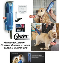 Oster A5 TURBO 2 Speed PROFESSIONAL CLIPPER SET &Cryogen X 10 Blade*Pet ... - $189.99