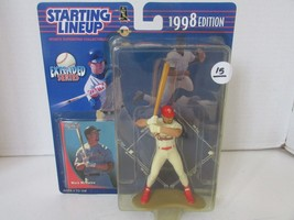 Kenner Starting Lineup Action Figure Mlb Mark Mcgwire Etended Series 1998 L220 - $12.73