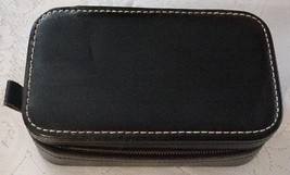 Vintage Men's Travel Shaving Case Split Cowhide... - $15.95