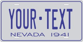 Nevada 1941 License Plate Personalized Custom Auto Bike Motorcycle Moped key tag - $10.99+