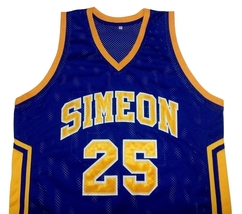 Derrick Rose Simeon High School Basketball Jersey Any Size Free Wwjd Bracelet - $29.99