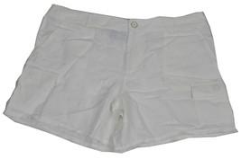 New TOMMY HILFIGER $59.50 Womens White Straight leg Size 14 Cargo Shorts... - $18.50