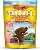 Zuke's Mini Naturals Moist Miniature Treat for Dogs Savory Salmon 1 lbs.... - $13.99