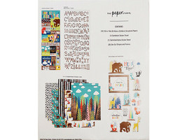 The Paper Studio Forest Friends Papercrafting Kit, Scrapbooking #1754290 image 2