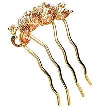Peacock Hair Comb Classical Hair Comb Accessory Dish Hair Headwear