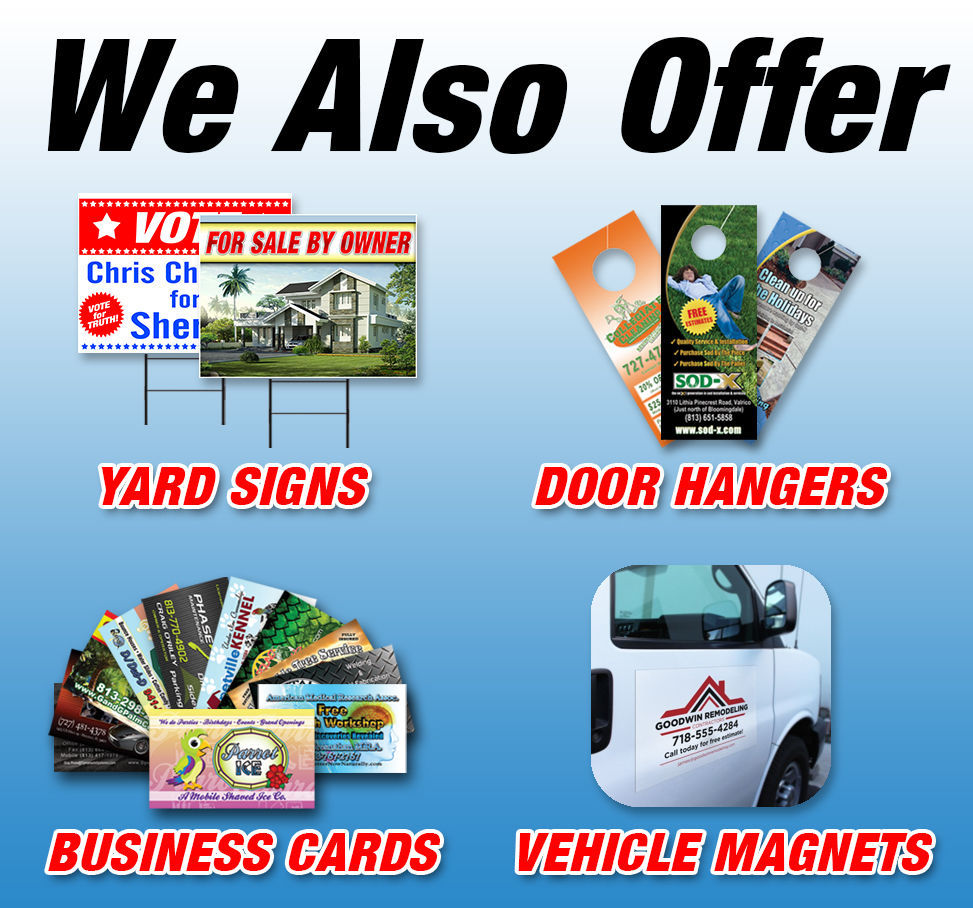 WE MEET OR BEAT ALL PRICES Advertising Vinyl Banner Flag Sign Many Sizes USA