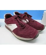Michael Kors Burgundy Sneakers Cy15E Womens Size 7 M - $28.42
