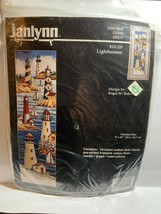 NOS 1996 Janlynn Counted Cross Stitch Lighthouses #13-229 Vintage VTG - $11.29
