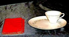 """G"" Plates Japan Fine China Dishes and teacups with Napkins AA20-2344 Vintage image 8"