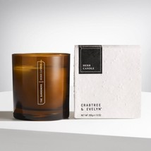 Crabtree & Evelyn Herb Candle - 200g   Long -Lasting Scented - $26.99