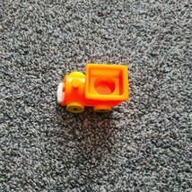 Vintage Little People Fisher Price 656 Riders Train Car Orange Yellow - $8.99