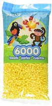 Perler Yellow Beads for Kids Crafts, 6000 pcs - $14.33