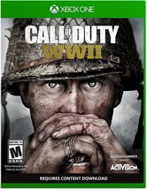 XBOX One Call of Duty WWII Standard Edition 2017 New Factory Sealed Word... - $49.99