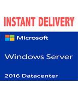 Windows Server 2016 Datacenter - 32/64 Bit - Genuine - $11.90