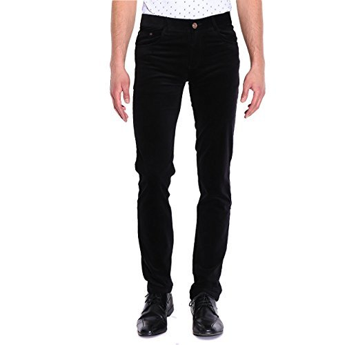 Primary image for Tag 7 Men's Relaxed Jeans 34 Black
