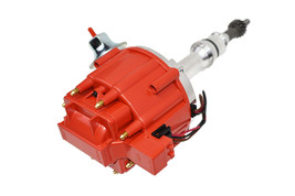 SBF Ford Small Block 260 289 302 HEI Ignition Red Cap Distributor w/ 65K Coil image 2