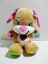 FISHER PRICE Laugh and Learn Smart Stages Sis Kids Interactive Plush Pup... - $24.30