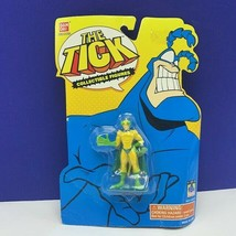 The Tick action figure mini Bandai 1994 Fox moc Crusading chameleon retr... - $28.87