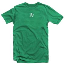 Oakland Athletics T-Shirt A's Mini Logo Soft Tee (S-2XL) MLB - $12.82+