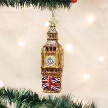 OLD WORLD CHRISTMAS BIG BEN LONDON ENGLAND GLASS CHRISTMAS ORNAMENT 20058 - $21.88
